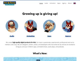 foxandsheep.com screenshot