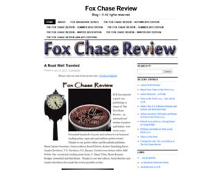foxchasereview.wordpress.com screenshot