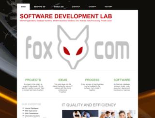 foxcom.eu screenshot