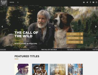 foxcontest.com screenshot