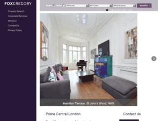 foxgregory.co.uk screenshot