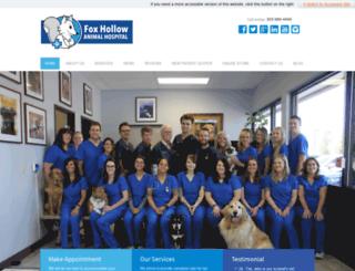foxhollowvetcom.vetmatrixbase.com screenshot