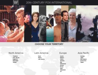 foxinternational.com screenshot