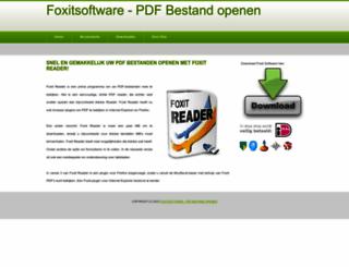 foxitsoftware.nl screenshot