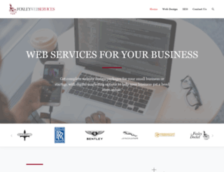 foxleywebservices.co.uk screenshot