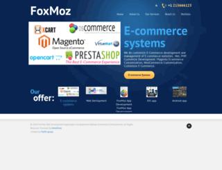 foxmoz.com screenshot
