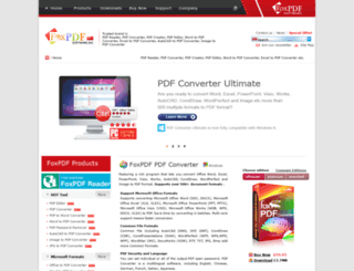 foxpdf.com screenshot