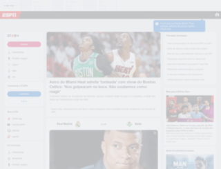 foxsports.com.br screenshot