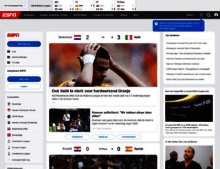 foxsports.nl screenshot