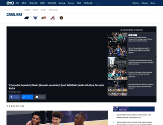 foxsportscarolinas.com screenshot