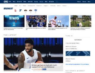 foxsportsmidwest.com screenshot