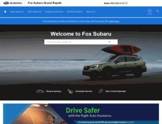 foxsubaru.com screenshot
