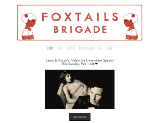 foxtailsbrigadecom.ipage.com screenshot