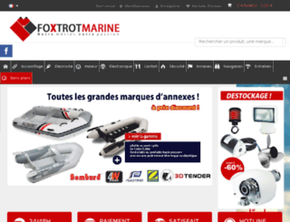 foxtrot-marine.fr screenshot