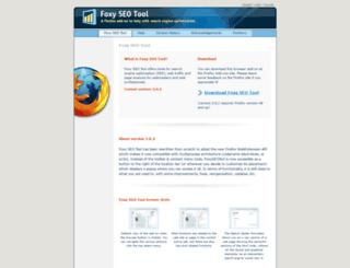 foxyseotool.com screenshot