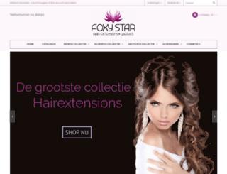 foxystar.nl screenshot
