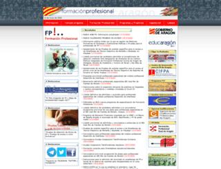 fp.educaragon.org screenshot