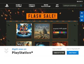 fp.scea.com screenshot