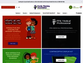 fpa.org.uk screenshot