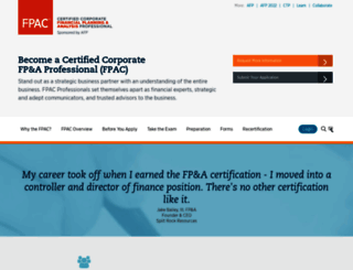 fpacert.afponline.org screenshot