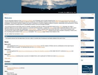 fperez.org screenshot