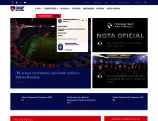 fpfpara.com.br screenshot