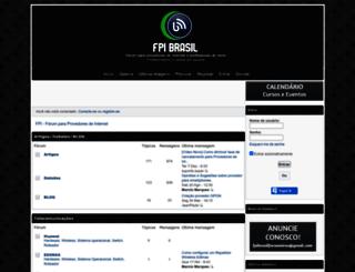 fpibrasil.forumeiros.com screenshot