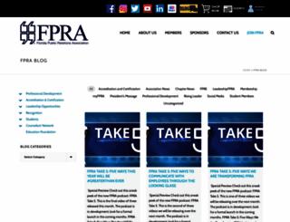 fprablog.org screenshot