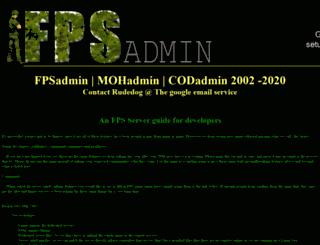 fpsadmin.com screenshot