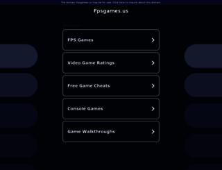 fpsgames.us screenshot