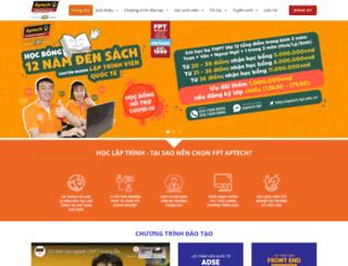 fpt.aptech.edu.vn screenshot