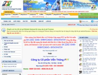 fptonline.divivu.com screenshot