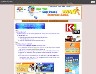 fpttphcm.jimdo.com screenshot