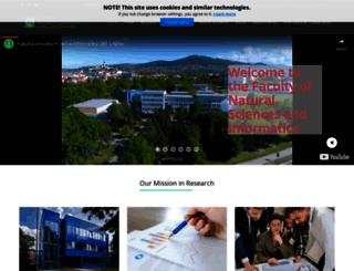 fpv.ukf.sk screenshot