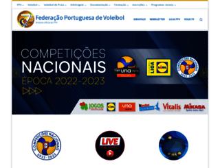 fpvoleibol.pt screenshot