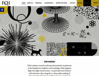 fqxi.org screenshot