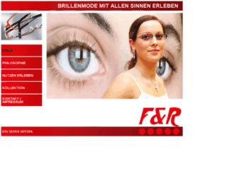 fr-eyewear.de screenshot