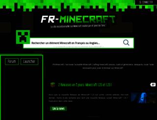 fr-minecraft.net screenshot
