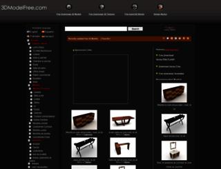 fr.3dmodelfree.com screenshot