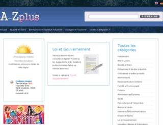 fr.a-zplus.com screenshot