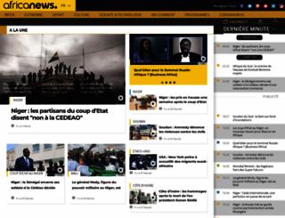fr.africanews.com screenshot