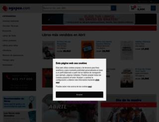 fr.agapea.com screenshot