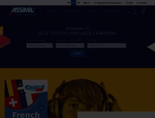 fr.assimil.com screenshot