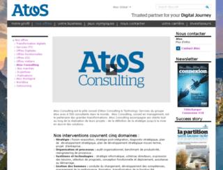 fr.atosconsulting.com screenshot