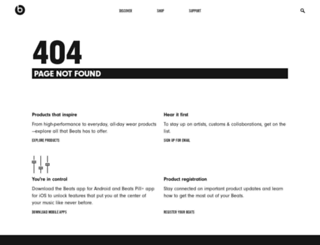 fr.beatsbydre.com screenshot