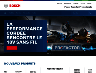 fr.boschtools.com screenshot