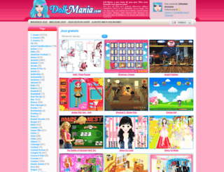 fr.dollmania.com screenshot