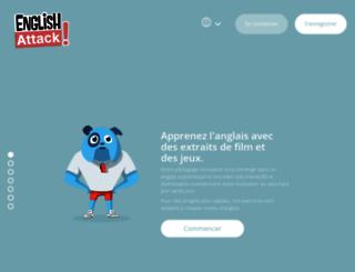 fr.english-attack.com screenshot