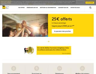 fr.eni.com screenshot