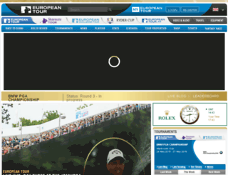 fr.europeantour.com screenshot